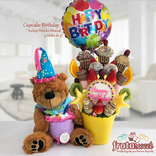 Picture of CUPCAKE BIRTHDAY BEAR