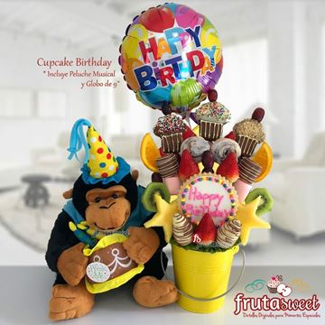 Picture of CUPCAKE BIRTHDAY MONKEY