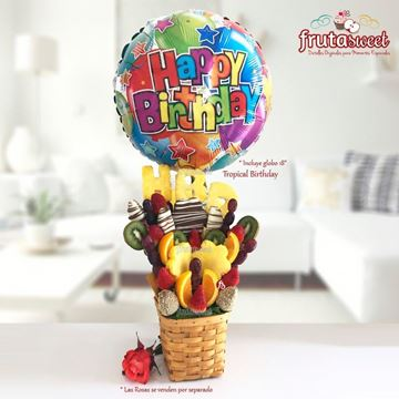 Imagen de TROPICAL BIRTHDAY FRUIT