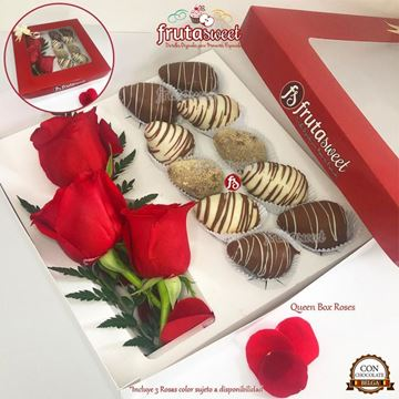 Picture of Queen Box Roses