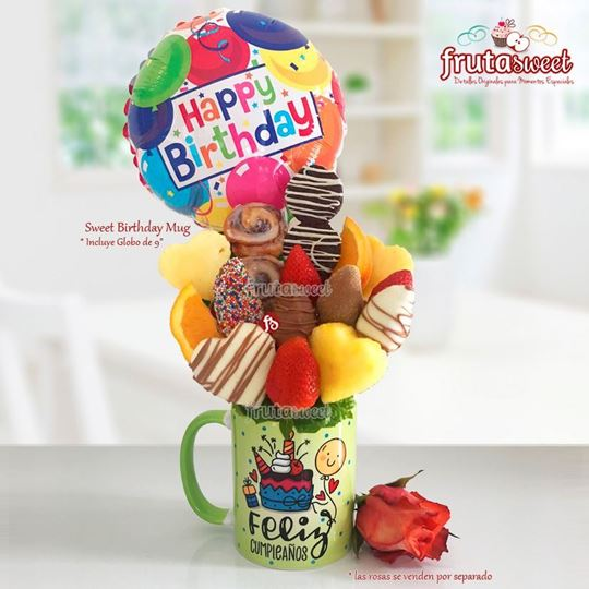 Picture of SWEET BIRTHDAY MUG