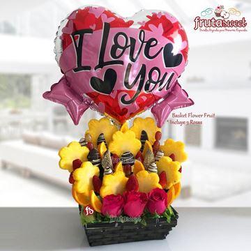 Picture of BASKET FLOWER FRUIT